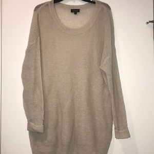 Top shop sweater, off white, size 10